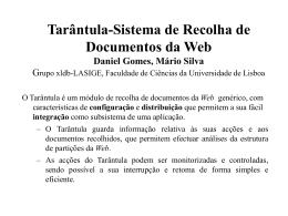 Presentation - XLDB - Universidade de Lisboa