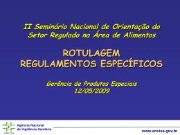Resolução RDC n. 274/05