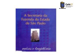 Histórico da SEFAZ