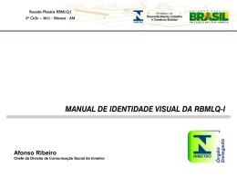 Dicom - Manual de Identidade Visual da RBMLQ - I