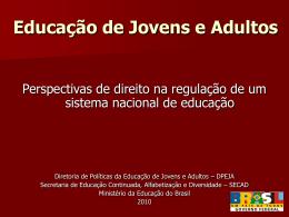 André Lázaro - SECAD/MEC - Portal dos Fóruns de EJA
