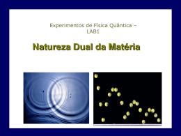 Lab1-Dualidade da Matéria