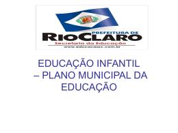 educação infantil - Secretaria da Educação RC