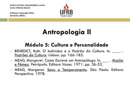 Centro de Artes, Humanidades e Letras Curso: Ciências Sociais