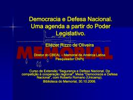 Prof° Dr. Eliézer Rizzo de Oliveira