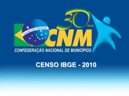 Censo IBGE 2010