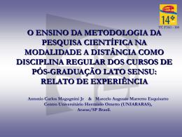 Metodologia da Pesquisa Científica (MPC)