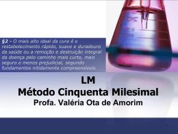 LM Método Cinquenta Milesimal