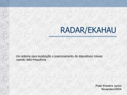 RADAR/EKAHAU
