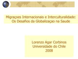 Migração, globalizaçao e interculturalidade