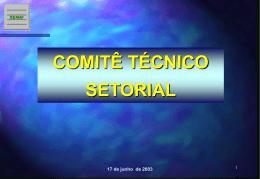 Comitê Técnico Setorial 2