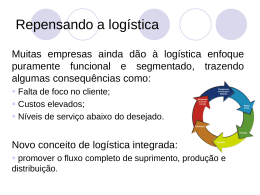 Repensando a logística