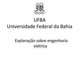 Engenharia_Eletrica_t01 - Universidade Federal da Bahia