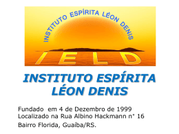 Instituto Espírita Léon Denis