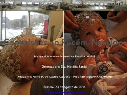 Convulsões no Recém-Nascido