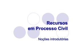 Recursos - Faculdade de Direito da UNL