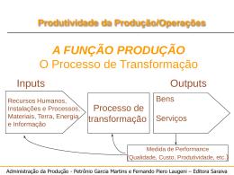 produção e produtividade - Engenharia Industrial Madeireira