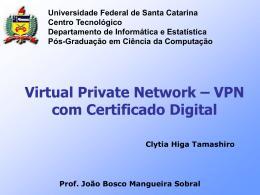 VPN-CertificadoDigital-Clytia - Departamento de Informática e