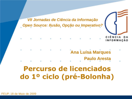 Presentation of Ana Marques and Paulo Aresta