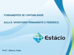 INVENTÁRIO PERMANENTE E PERIÓDICO AULA 8