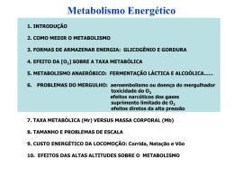 Metab. Energetico parte I.