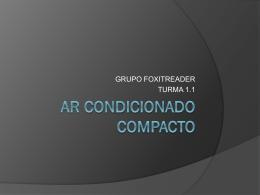 AR CONDICIONADO COMPACTO