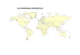 1.3 - Acetato compósito das coordenadas geográficas