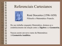 Referenciais Cartesianos (Introdução)