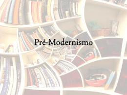 Pré-Moder - Literatura para Vestibular