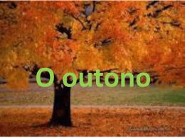 O OUTONO - Blogue da turma 8 – Fonte Joana