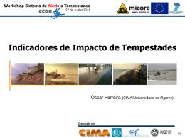 Workshop Sistema de Alerta a Tempestades - CIMA