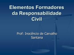Elementos Formadores da Responsabilidade Civil