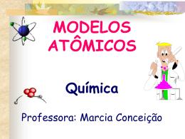 MODELOS ATÔMICOS Química - marciasilvaquimica