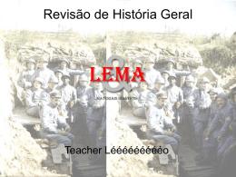 Revisão HG