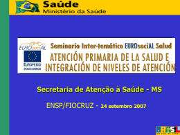 Serviços de Saúde – 1995 a 2002