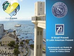 Slide 1 - Sociedade Brasileira de Cardiologia
