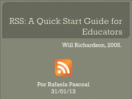 RSS Richardson 2005 - ambientes-sociotecnicos