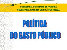 Transparência do Gasto Público