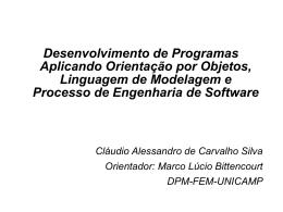 Desenvolvimento de Programas Aplicando Orientação