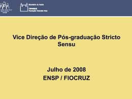 Programa de Pós-Graduação em Saúde Pública