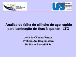 apresentacao5 - Laboratório de Fenômenos de Superfície