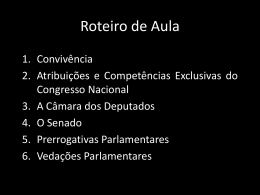 Poder Legislativo II