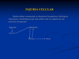 injúria celular