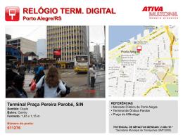 Terminal Praça Pereira Parobé, S/N