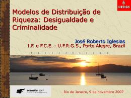 Modelos de Distribuição de Riqueza