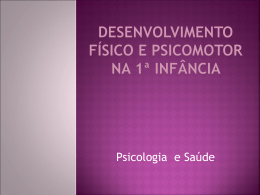 OS PRIMEIROS MESES DE VIDA DO NEONATO