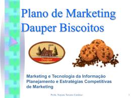 Plano de Marketing Dauper Biscoitos