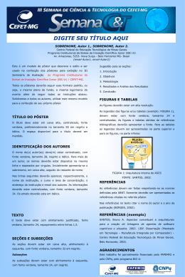 Poster_Modelo_BIC-Jr. - Cefet-MG