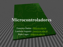 "Lages ""Microcontroladores"""
