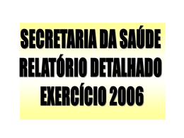 Exercício 2006 - Prefeitura Municipal de Campo Mourão